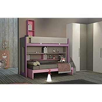 Dafnedesign.com - Cameretta per ragazze - L. 427 cm - P. 207 cm - H ...