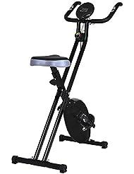 Fitnessfahrrad Heimtrainer Fahrradtrainer Trimmrad faltbares Fitnessfahrrad Fitnessbike