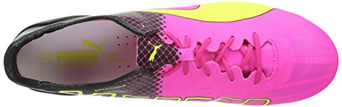 Puma Evospeed Sl Ii Tricks Mix Sg Herren Fußballschuhe Pink (pink glo-safety yellow-black 01)
