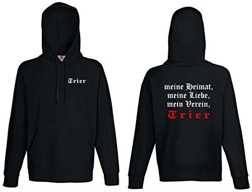 world-of-shirt Herren Kapuzensweat Trier Ultras meine Heimat