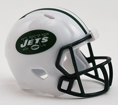 Riddell New York Jets Originalnachbildung Speed Pocket Pro Micro/Kamerahandys/Mini Football Helm -