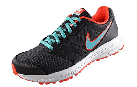 Nike Downshifter 6, Chaussures de course femme Dark Grey / Copa / Hyper Orange / White