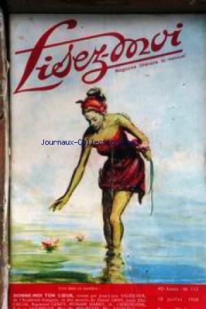 LISEZ MOI [No 111] du 10/07/1950 - J.LOUIS VAUDOYER - R. GENTY - D. GRAY - M. HARRY - A. T'SERSTEVENS - R. HOUDELOT - L. DUCREUX - M. MAURETTE - MAX FAVALELLI.