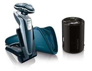 Philips RQ1251/80 SensoTouch 3D mit gratis Portable Speaker, schwarz