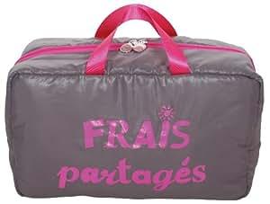 Caroline Lisfranc - Sac frais Partagés Sac pique-nique Isotherme Doudoune Gris