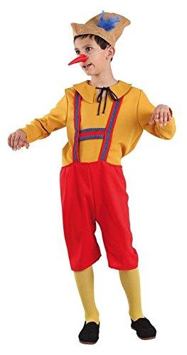 Imagen de disfraz de pinocho infantil  único, 7 a 9 años