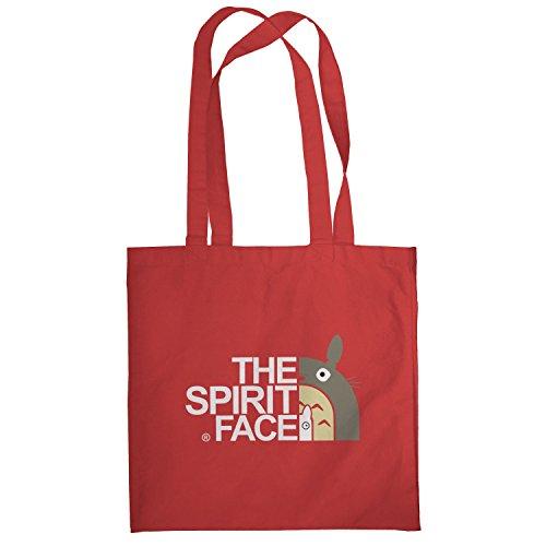 Texlab–The Spirit Face–sacchetto di stoffa Rot
