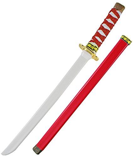 Rotes Katana KINDER NINJA Samurai (Ninja Dolch)