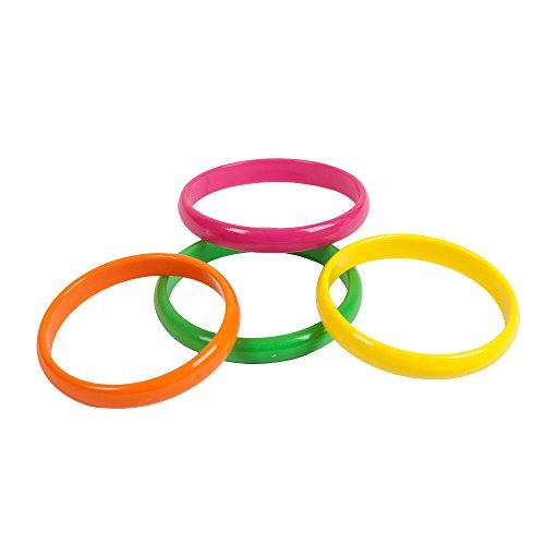 80's Neon Bracelets 4pc Set