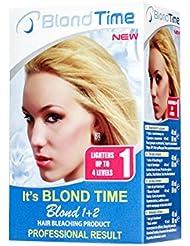 Blond time bllond 1+2 producto para el blanqueamiento del pelo