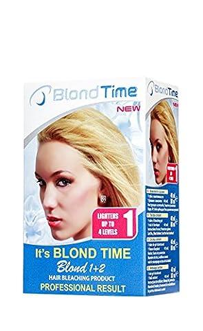Blond Time Produit de Blanchiment des Cheveux 1 + 2