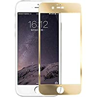 Ultra® oro colorato temperato Glass Screen Protector per Apple Iphone