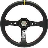 [TÜV-5] DoradoTuning Volante Deportivo Rally/Deriva/Carrera/Universal (350mm)