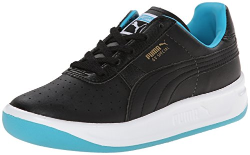 Puma evoSPEED HallenfuÃ?ball Schuhe Indoor-Schuhe Black/Scuba Blue