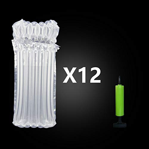 AirBaker Weinflasche Schutz Luftpolsterkissen Luftpolster Taschen aufblasbare Schutzmaterialien (12 pcs)