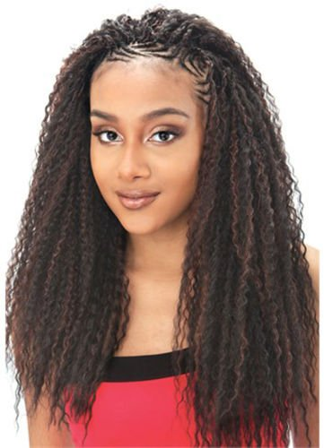 Model Model Brazilian Curl Braid. Colour 1B . 20\