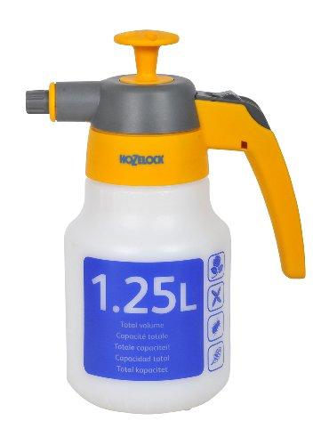 Hozelock 4122 0000 Viton - Pulverizador a presión (1.25 L, especial para sustancias químicas agresivas) [Importado de Alemania]