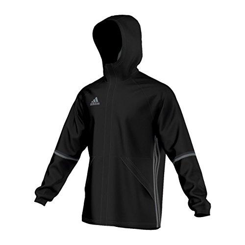 Adidas–Chaqueta de adulto con 16RN, todo el año, unisex, color negro/gris, tamaño XLT