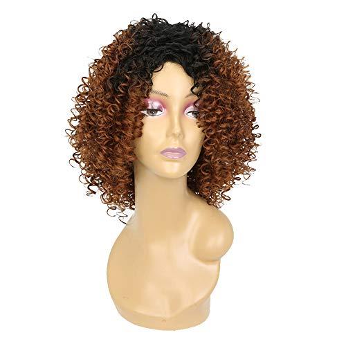 Perücke Frauen Damen Haar Wigs Blond Kurz Glatt Für Karneval Fasching Cosplay Party Kostüm Mehr Stilvolle Blonde Gerade,Brown,17inches