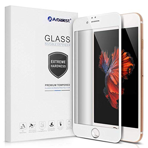 1e1a100d45f Arbalest Verre Trempé iPhone 6s, Full Coverage Film Protection iPhone 6,  Extreme Résistant aux