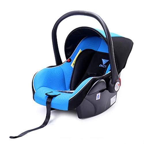 HIZH Gratuito Neonato Spedizione Sede Car Carrier Sicurezza dei Bambini Appena Nati Passeggino Carrello 0-13Kg, Blu E Nero