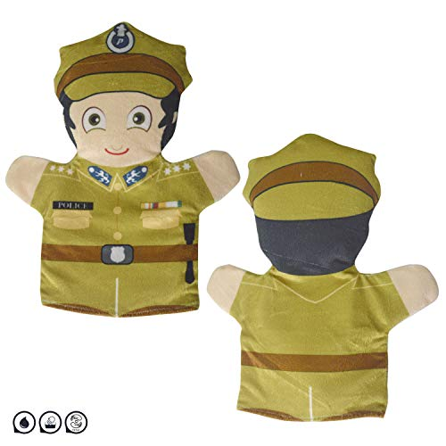 Cuddly Toys Policeman Hand Puppet for Kids & Adults (12inch)