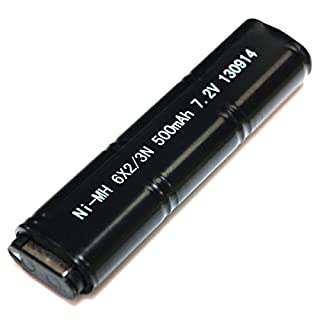 Airsoft Wargame Tactical Shooting Gear CYMA Model No.:HY-127 7.2V 500mAh Ni-MH Battery for CYMA AEP Series