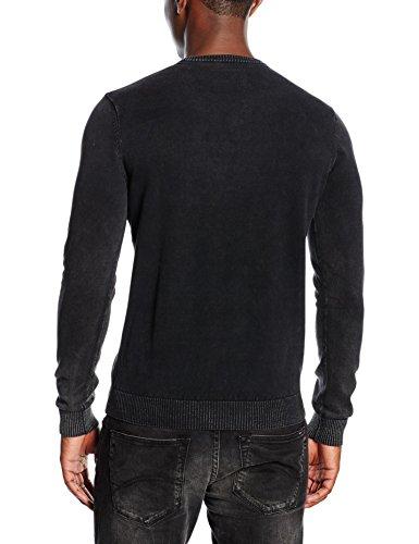 Kaporal Jongo, Pull Homme Noir (Black)