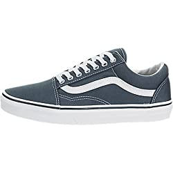 Vans Old Skool(VA38G1MJ7) - (canvas) Dark Slate/true White - 5.5