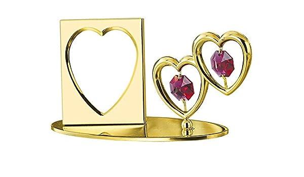 Fancy Double Heart Picture Frame Embellishment - Frames Ideas ...