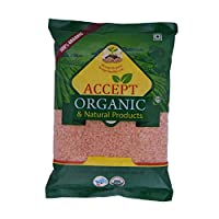 Accept Organic Masoor Dal/Red Lentils -0.5 KG