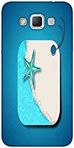 Snoogg Abstract Summer Background Designer Protective Back Case Cover For Sam...