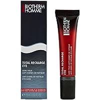 Biotherm Homme Total Recharge Soin Contour Des Yeux - Loción anti-imperfecciones, 15 ml