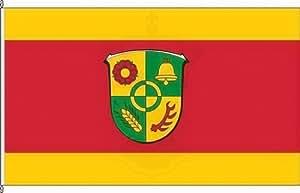 Königsbanner Kleinfahne Neu-Anspach - 20 x 30cm - Flagge und Fahne