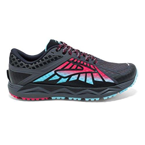 Brooks Caldera, Chaussures de Course Femme Anthracite/Pink