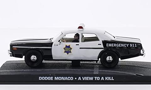 Dodge Monaco, James Bond 007, voiture miniature, Miniature déjà montée, SpecialC.-007 1:43