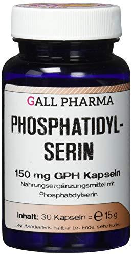 150 Mg 30 Kapseln (Gall Pharma Phosphatidylserin 150 mg GPH Kapseln, 30 Kapseln)