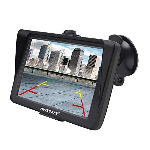 GPS Navi Navigation für Auto 7 Zoll Touchscreen Auto Navigationsgerät mit Lebenslang Karten-Updates (Europa) für 58 Länder und Taxi KFZ Navi -