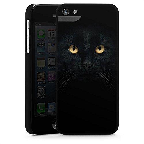 Apple iPhone X Silikon Hülle Case Schutzhülle Katze Augen Cat Premium Case StandUp