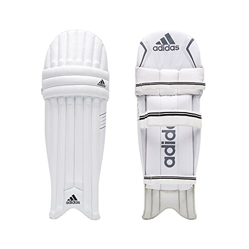 adidas XT 2.0Kinder Cricket Batting Pads Beinschützer Schutz Weiß/Schwarz, weiß, Jugendliche