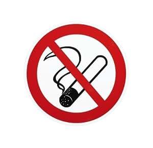 aufkleber rauchen verboten 200mm auto. Black Bedroom Furniture Sets. Home Design Ideas