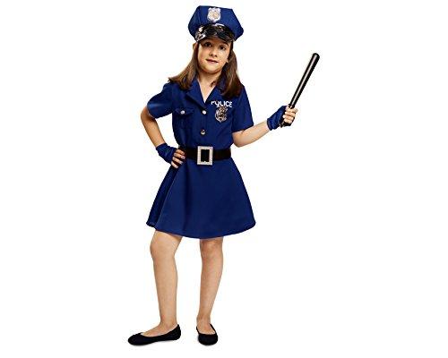Imagen de my other me  disfraz de policía para niña, talla 5 6 años viving costumes mom00929
