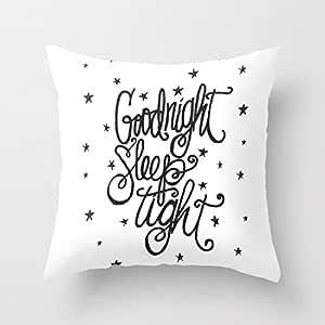 Dekorativer Kissenbezug Kissen Goodnight Sleep Tight 45,7 x