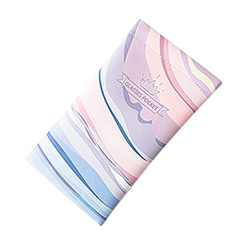 Trada Schutztasche Speicherpaket Brillenetui, Sonnenbrille/Lesebrille Reisetasche Lesebrille Tasche Tragetasche Soft Box Travel Pack Schutzhülle Anti-Kratz-Sonnenbrille (A)