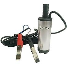Bomba sumergible de acero inoxidable 12V CC Combustible Diesel Agua Aceite 12litros por minuto de la buena por aquiver
