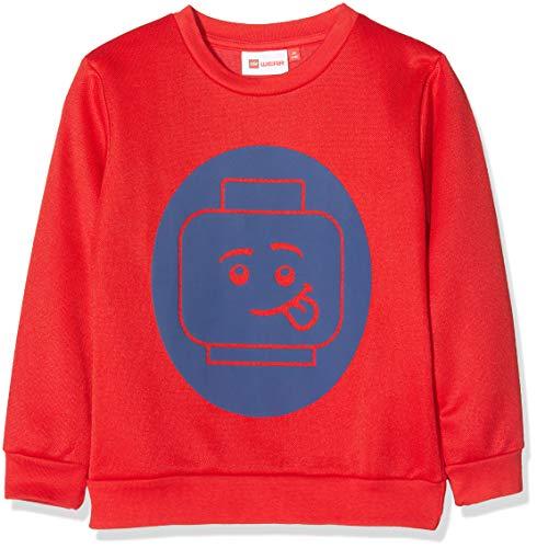 Lego Wear Jungen Sweatshirt Lego Boy Sebastian 706, Rot (Red 365), 152