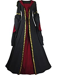 Mittelalter kleid damen sommer