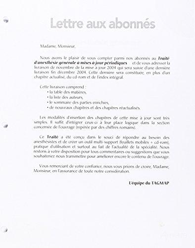 Mise a Jour N2 2004 Traite d Anesthesie Generale