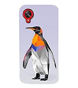 PrintVisa Animated Penguine 3D Hard Polycarbonate Designer Back Case Cover for LG Nexus 5 :: LG Google Nexus 5