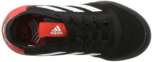 adidas Unisex-Kinder Ace Tango 17.2 in J Fußballschuhe Schwarz (C Black/Ftw White/Red)